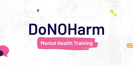 DoNOHarm Training (F2F) tickets