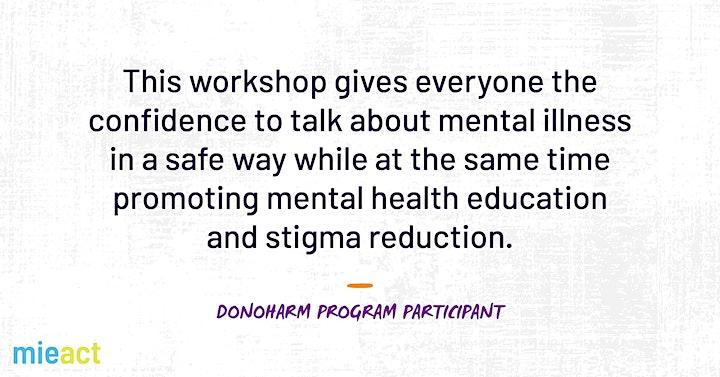 DoNOHarm Training (Online) image