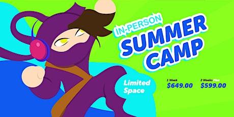 Cyberninjaz Summer Tech Camp (In-Person) tickets