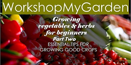 Vegetable  Gardening & Herb Growing for Beginners- Part Two tickets