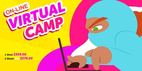 Cyberninjaz Summer Tech Camp (Online) tickets