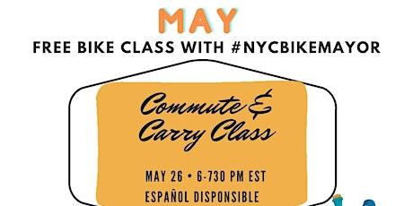 Commute & Carry Class  |  La oficina y los recados - en bici ingressos