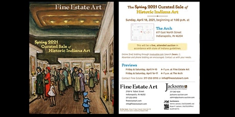 Fifth Annual Curated Sale of Historic Indiana Art tickets