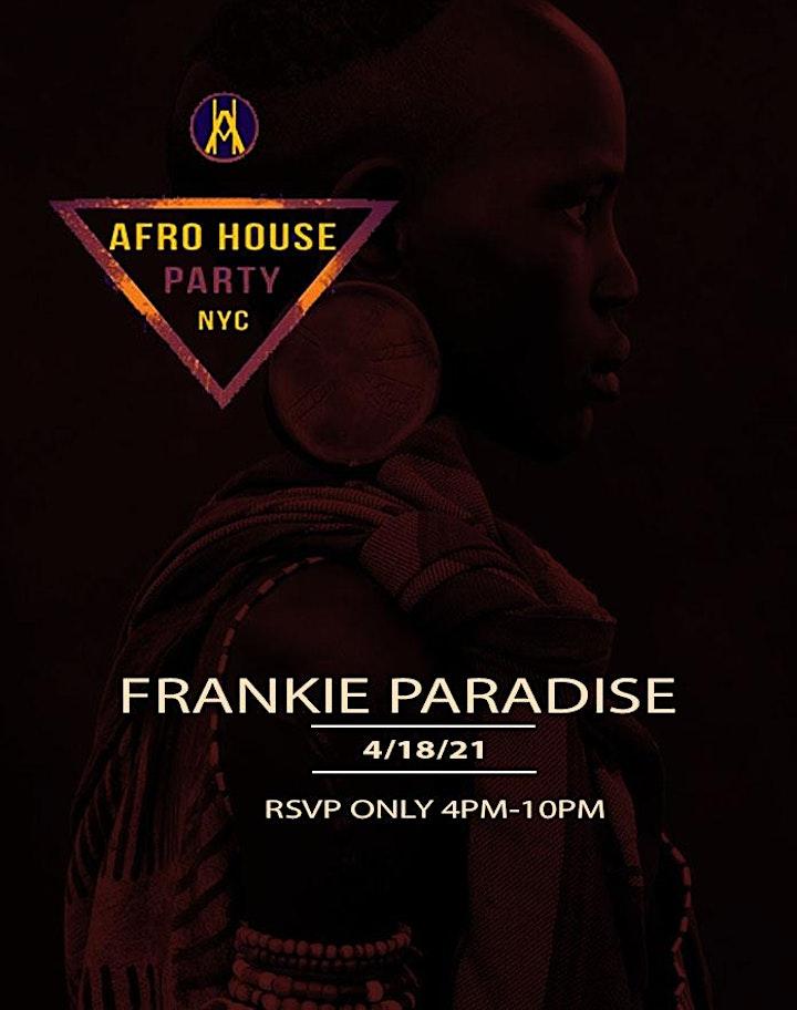 AFROHOUSENYC:  Presents FRANKIE PARADISE image