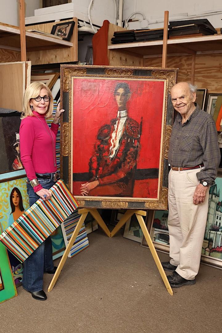 David ADICKES + Marthann MASTERSON:  Rooted Renewal, a dual art exhibit image