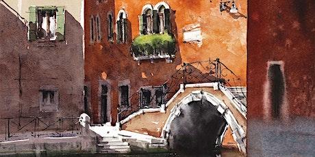 Demo  de Acuarela  Dedicado a la ciudad de Venecia - Barnaba Salvador  entradas