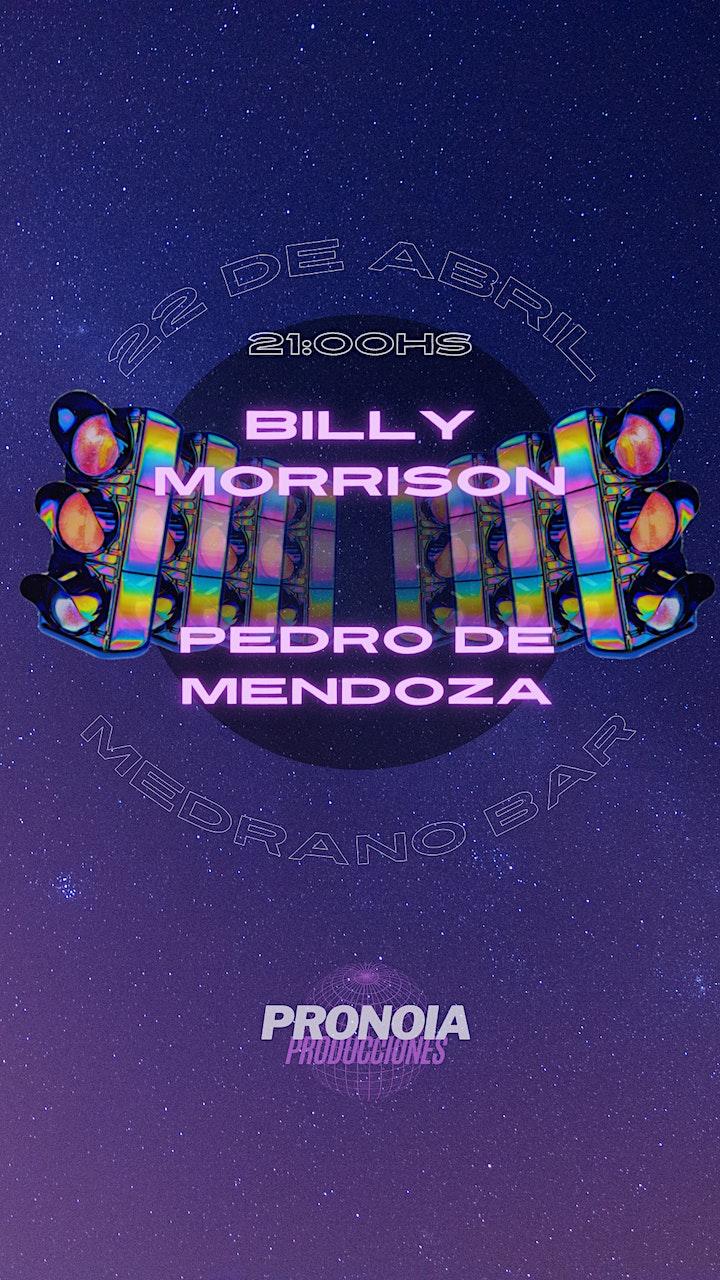 Imagen de Billy Morrison y Pedro de Mendoza