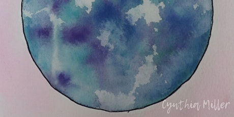 Watercolour Paint Circle Afternoon tickets