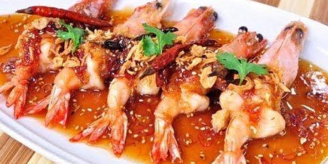 Virtual cook-along Thai cooking class: Shrimp with tamarind sauce tickets