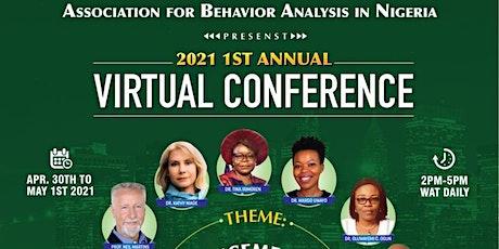1st Annual Virtual Association of Applied Behavior Analysis in Nigeria. tickets