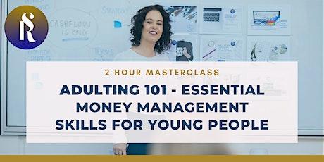Adulting 101 - Essential Money Management Skills f tickets