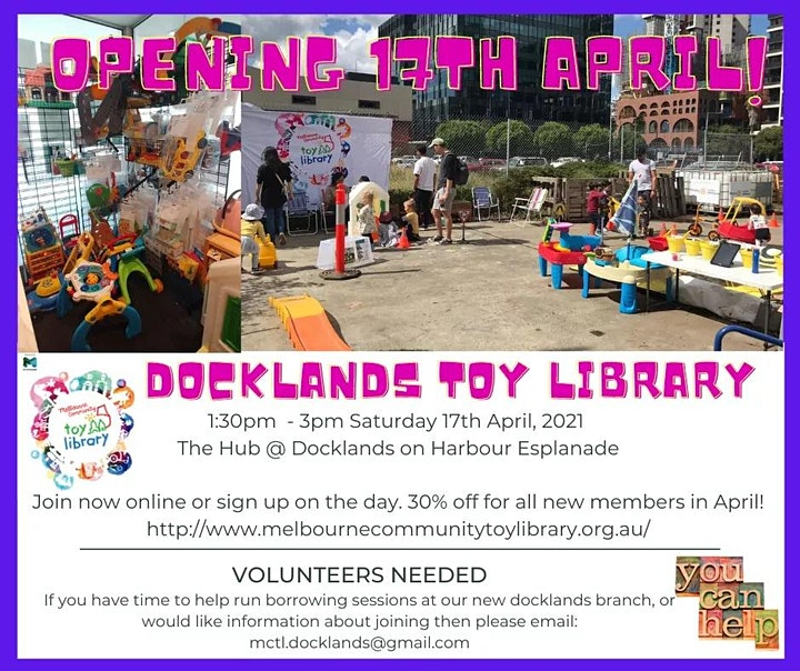 Docklands Toy Library Official Opening image