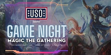 USO Sasebo Game Night: Magic the Gathering tickets