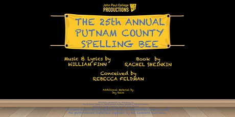The 25th Annual Putnam County Spelling Bee Production tickets