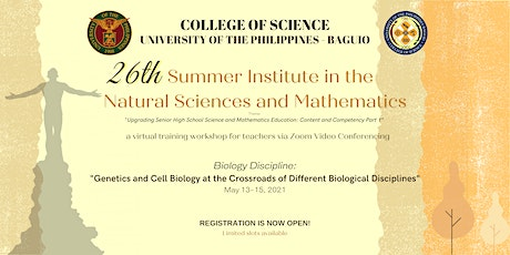 26th Summer Institute in the Natural Sciences and Mathematics | Biology entradas