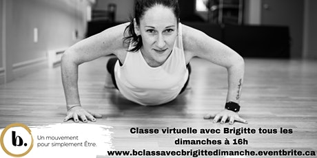 b.class® virtuelle dimanche 16h avec Brigitte billets