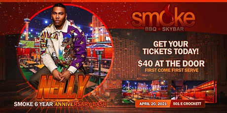 Smoke BBQ + SKYBAR Anniversary Hosted By NELLY tickets