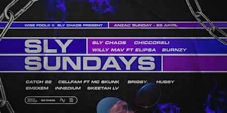 Sly Sundays - Anzac Weekend tickets