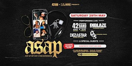 ASAP Gold Coast tickets