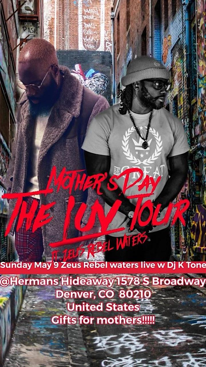 ZEUS REBEL WATERS LIVE w/ DJ KTONE (more tba) image