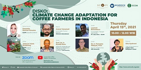 DISKO: Climate Change Adaptation Model for Coffee Farmers in Indonesia tickets