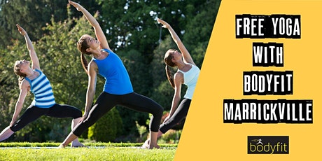 FREE Yoga classes with BodyFit Marrickville tickets