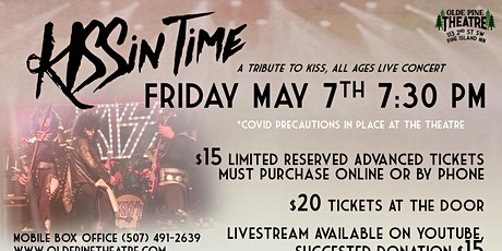 KISSin Time -A KISS Tribute- (All Ages Live Concert) tickets