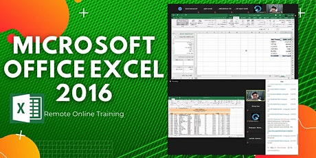 EXCEL 2016 TRAINING:  Intermediate and Advance tickets