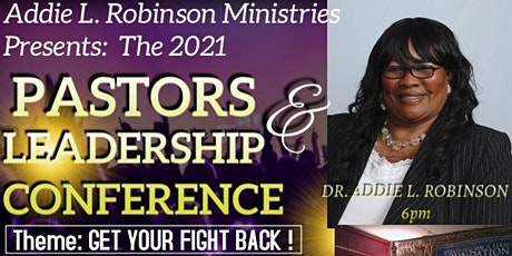 Pastors and Leadership Conference tickets