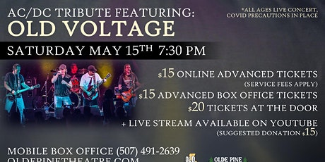AC/DC Tribute Featuring: Old Voltage (All Ages Live Concert) tickets