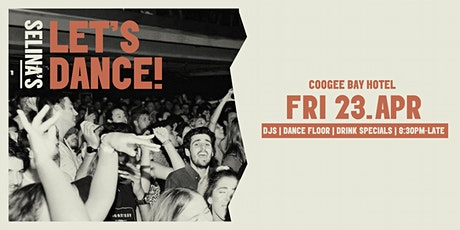 Let's Dance | April 23 | Coogee Bay Hotel tickets