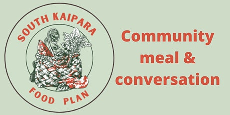 Community meal & conversation tickets
