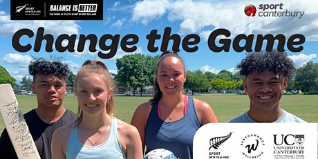 Balance is Better: Change the Game  (Mid-Canterbury) tickets