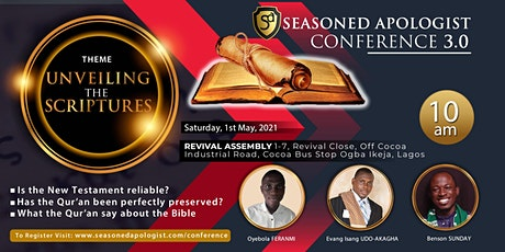 Seasoned Apologist Conference 3.0 tickets