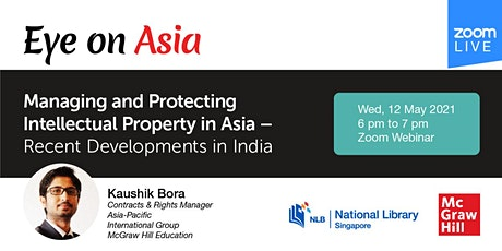 Eye on Asia: Managing and Protecting Intellectual Property in Asia tickets