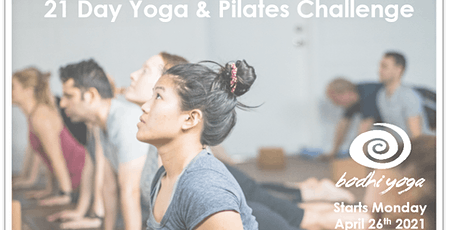21 Day Yoga & Pilates Challenge tickets