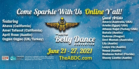 The Austin Belly Dance Convention 2021 ONLINE tickets