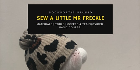 Sockcrafting - Mr/Miss  Freckle  (Beginner Friendly Class) tickets
