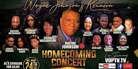 Wayne Johnson's Reunion and Homecoming VirtualConcert tickets