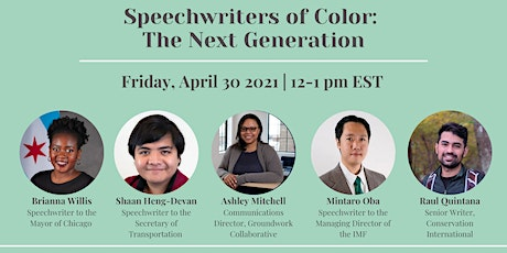 Speechwriters of Color: The Next Generation tickets