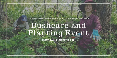 GAP x St Lucia Bushcare Planting Bee tickets
