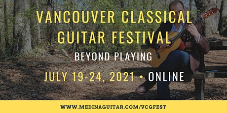 Vancouver Classical Guitar Festival 2021 tickets