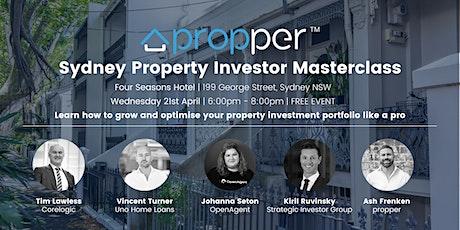Sydney Property Investor Masterclass tickets