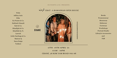 ERAT: A Ramadhan Open House tickets