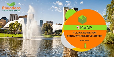 Renovators & Developers   - A Quick Guide to the New SA Planning Code tickets