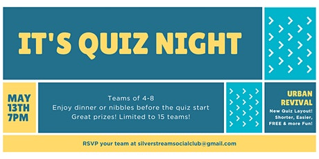 Silverstream Quiz Night tickets
