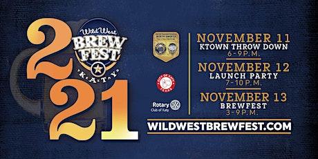 The Wild West Brewfest 2021 tickets