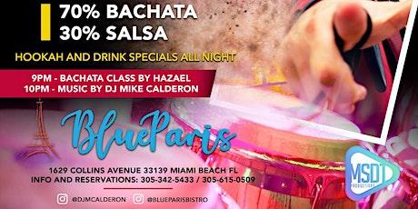 Bachata Overdose at Blue Paris feat. DJ Mike Calderon tickets
