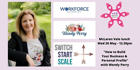 McLaren Vale lunch - Women in Business Regional Network - Wed 26/5/2021 tickets
