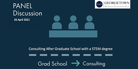 Consulting after Graduate School: STEM edition tickets